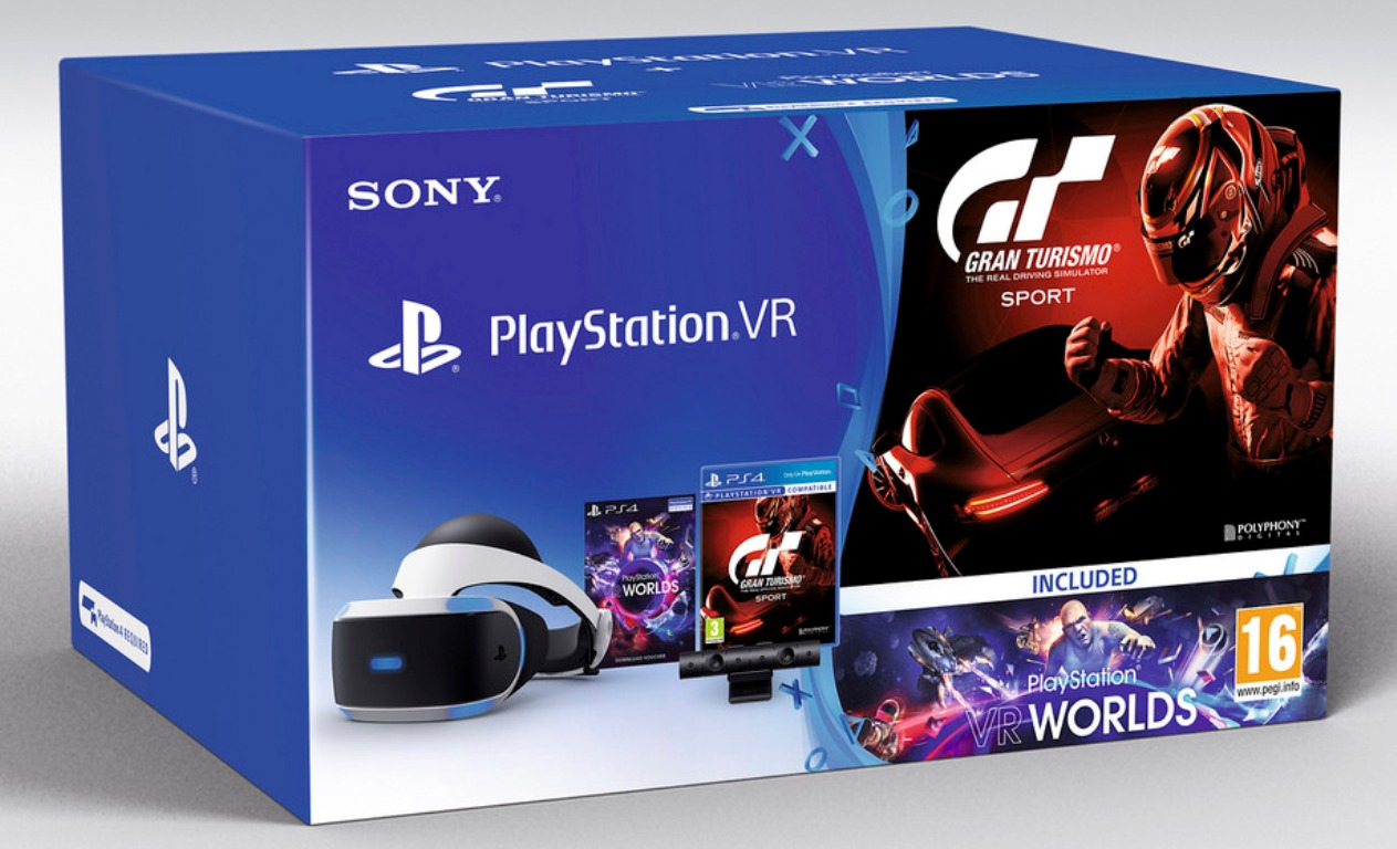 gran turismo sport ps vr bundle released playstation 4. Black Bedroom Furniture Sets. Home Design Ideas